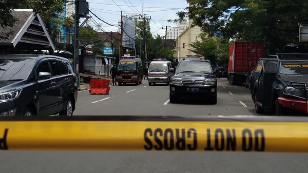Data Sementara Korban Luka Bom Bunuh Diri Depan Gereja Katedral Makassar