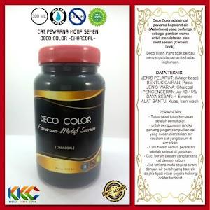 Deco Color - Pewarna Cat Efek Motif Semen - Kemasan 400 Gram