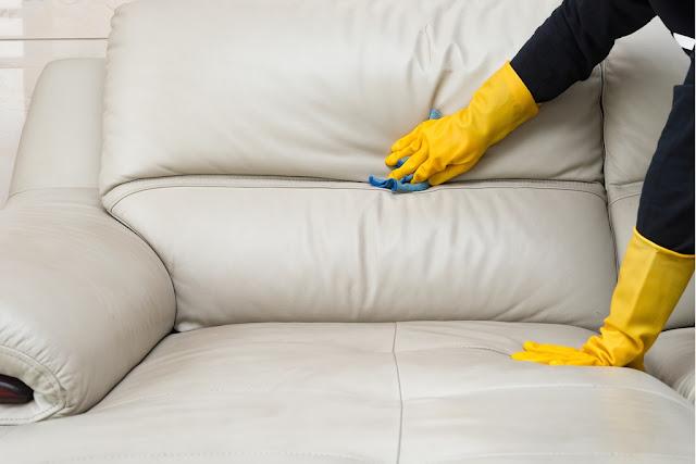 Bộ ghế sofa da dễ dàng vệ sinh hơn