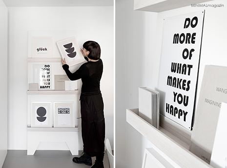 Wie gestalte ich eine Bilderwand? 5 Tipps für die Gestaltung einer Bilderwand - Ideen zum Thema minimalistisch wohnen findest du im MINIAMLmagazin