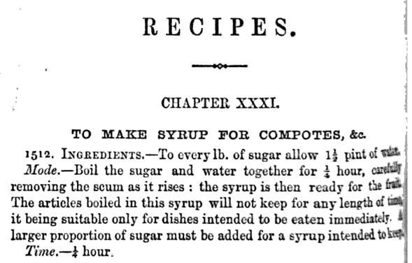 Mad Ship recipe recreated from an old cookbook recipe for cherry preserves