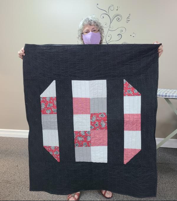 Donna's first quilt | Devotedquilter.com