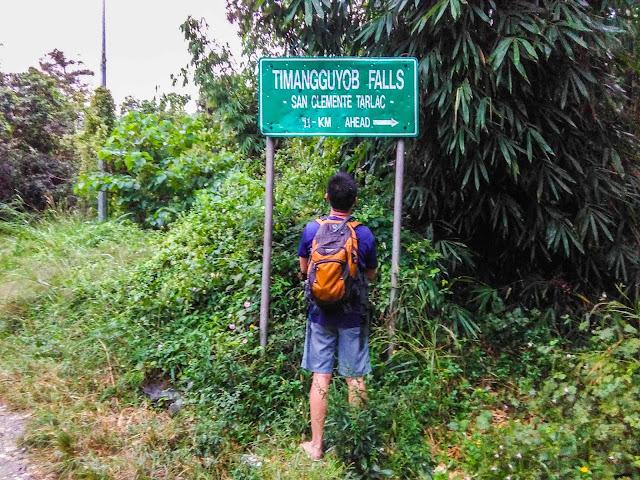 Timangguyob Falls jump-off