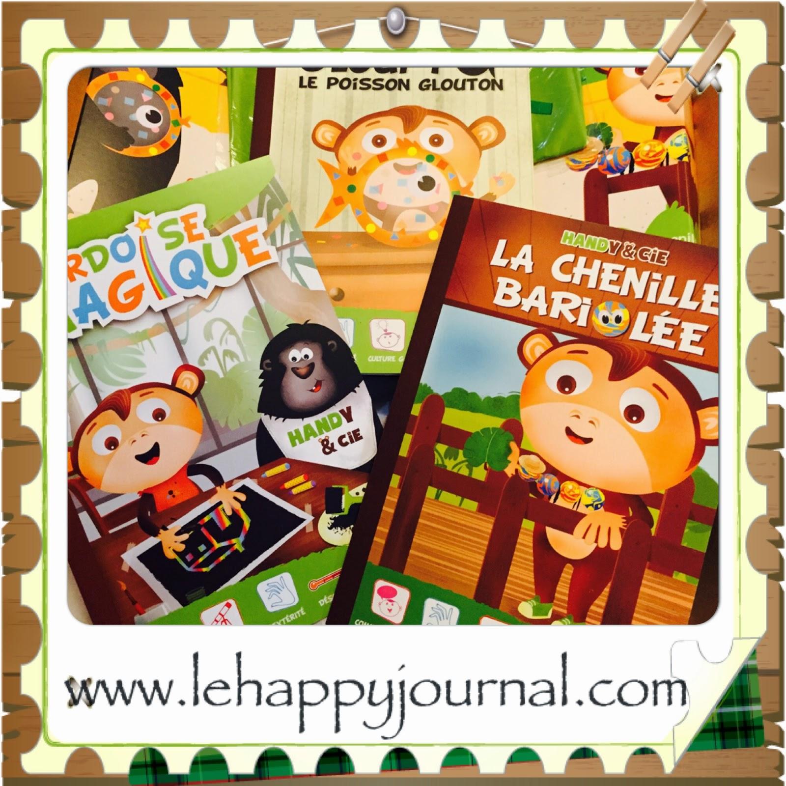 handy et cie, box, activité manuelle, enfant, happy journal, partenaire