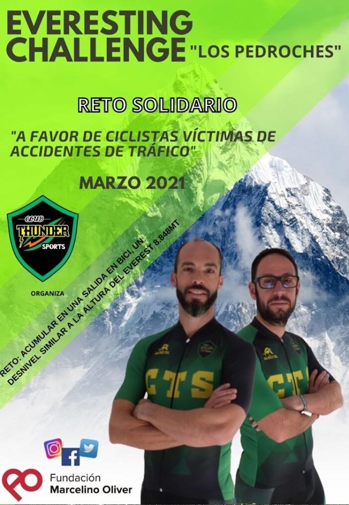 La Fundación Marcelino Oliver realizará el Everesting Challenge con fines solidarios