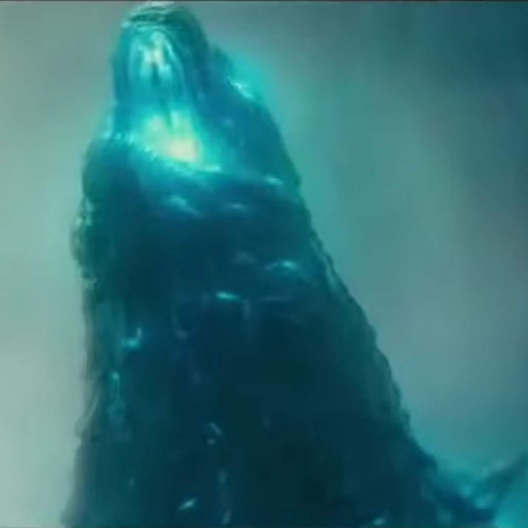 Godzilla vs. Kong : ハリウッド版「ゴジラ」シリーズ第3弾の最新作「ゴジラ vs.コング」の最も最初の1点めのポスター ! !