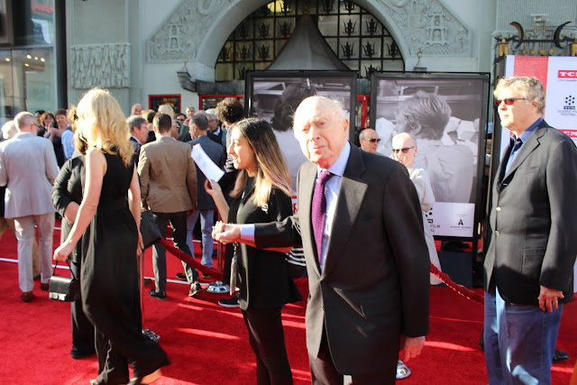 Norman Lloyd at the 2016 TCM Classic Film Festival Red Carpet