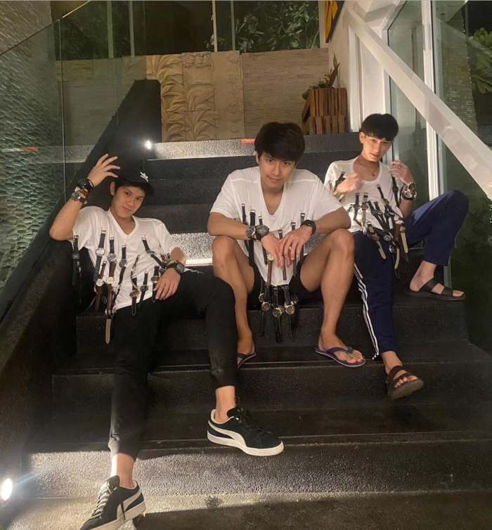 Young actors in Thailand