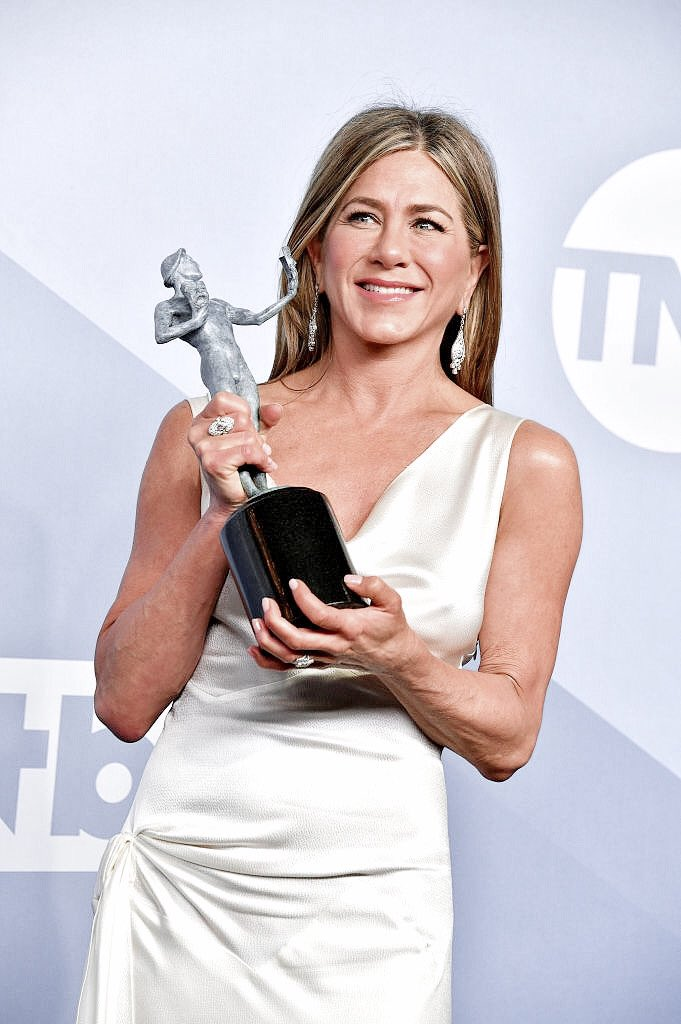 Jennifer Aniston won outstanding performance by a female actor in a drama series at the 2020 Screen Actors Guild Awards