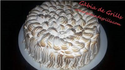Tarta de almendra y merengue 10