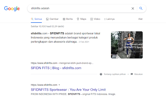 Contoh Tampilan Paragraph Featured Snippets