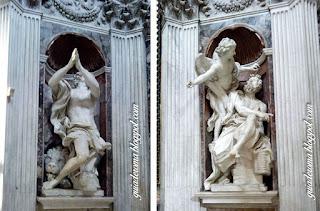 santa maria popolo bernini guia portugues - O nosso city tour Anjos e Demônios