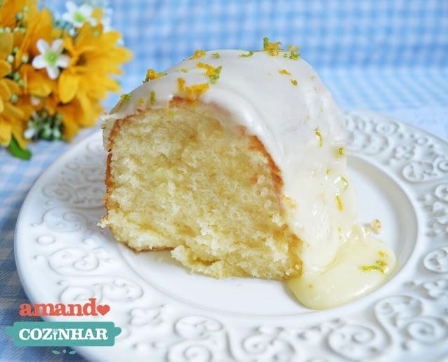 receita facil bolo de limão