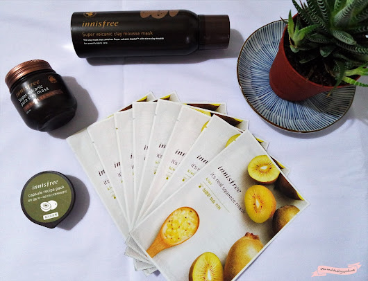 [Beauty] Innisfree Super Volcanic Mask vs Mousse Mask