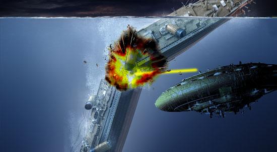 Ataque de extraterrestres no Titanic