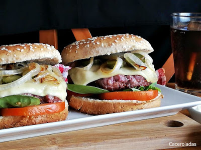 Como hacer hamburguesas caseras fáciles y ricas
