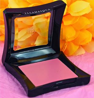 Blusher - cream blush - warm candy pink - illamasqua - dewy finish - longlasting blusher - pink blusher- swatch - review