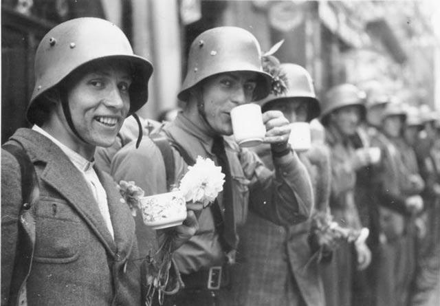 Sudetendeutsches Freikorps paramilitary organization troops worldwartwo.filminspector.com