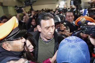 Regresa Moreira a México