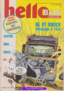 Hello-Bébé, numéro 33, 1991, Al et Brock