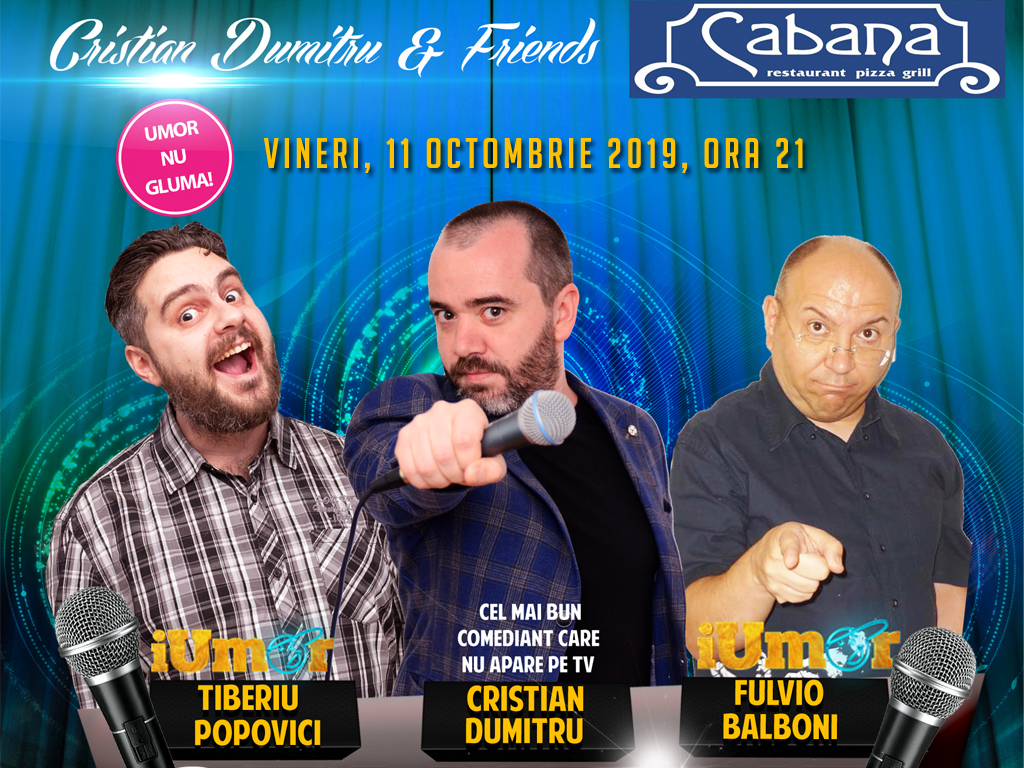 Stand-Up Comedy Bucuresti 2019