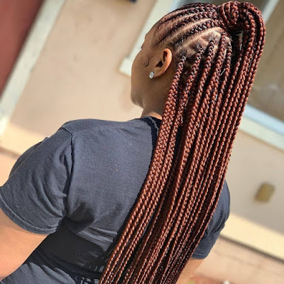 Hair styles Ghana Braids Styles: Most Elegant Braided Hairstyles for ladies – 20 Pictures