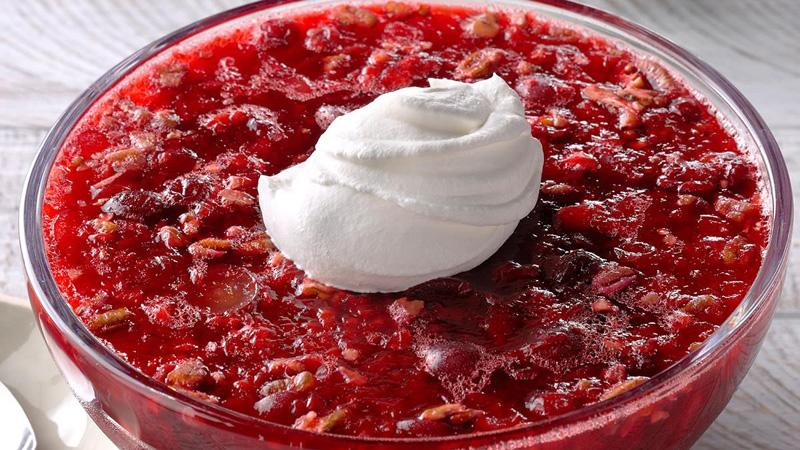 Quick Cranberry Gelatin Salad