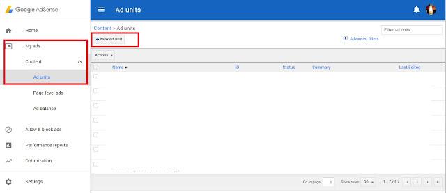 Cara letakkan kod Google Adsense dalam post entri