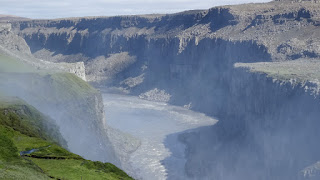 View from Westside of DETTIFOSS