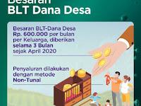 Mendes PDTT Tegaskan BLT Dana Desa Berupa Uang Bukan Sembako