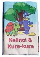 mainan edukasi kain kelinci dan kura-kura
