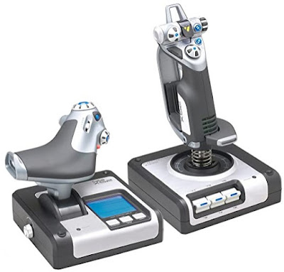 Logitech X52 Simulator
