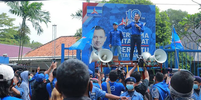 85 Persen Netizen Setuju Demokrasi Diselamatkan, Demokrat: Jangan Sampai Rakyat Turun Ke Jalan