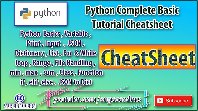 Python Complete Basic Tutorial in 17 Minutes