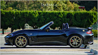 Jet Black Mazda Roadster ND5RC