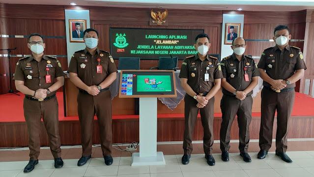 Dwi Agus Arfianto Luncurkan Aplikasi Jelambar di Kejaksaan Negeri Jakarta Barat.lelemuku.com.jpg