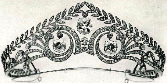Brunswick Diamond Tiara Hanover Germany Princess Victoria Louise