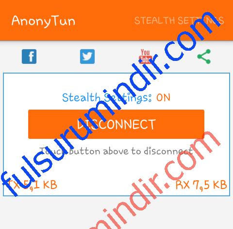 AnonyTun VPN APK İndir Fatih_F@tih