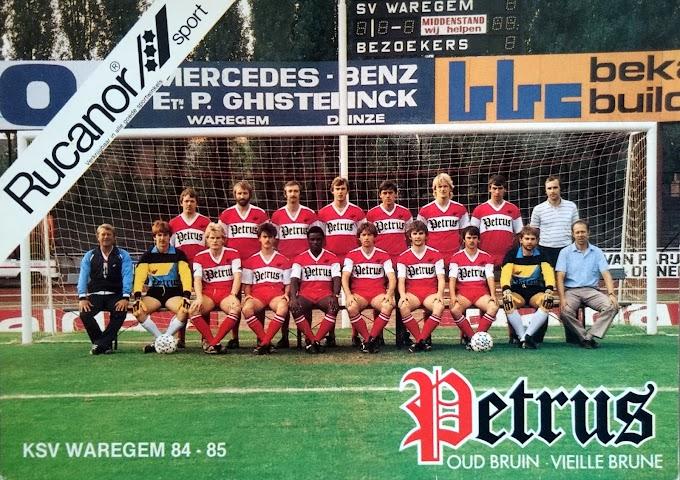 K.S.V WAREGEM 1984-85.