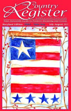 Cover Art by Liz Revit - July - Aug 2011 The Country Register - Maryland Edition