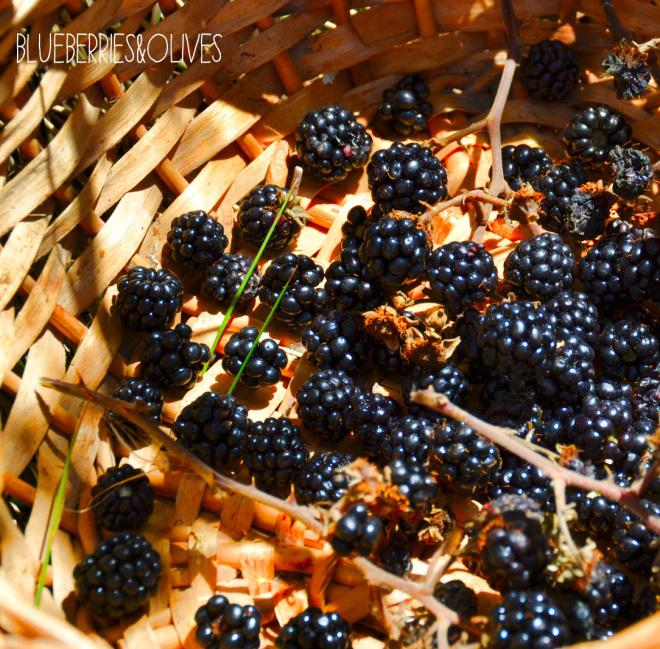 Smoothie de moras y uvas 2