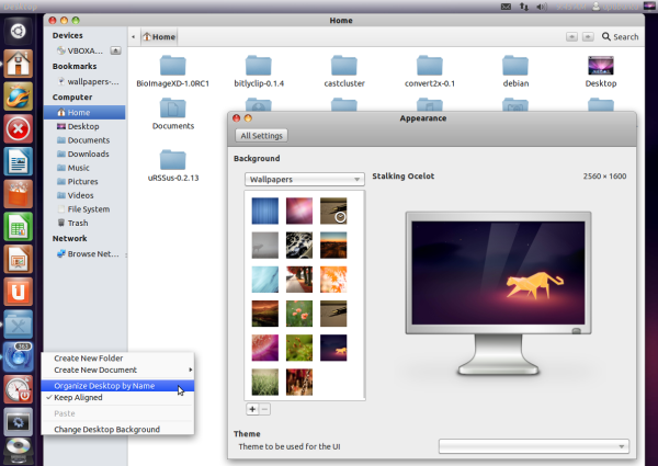 fakeosx - Another Mac OS X Theme For Gnome Shell And Unity - Ubuntu