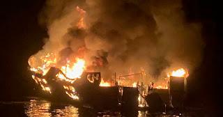 California dive boat fire was 'freak accident,' underwater cinematographer says