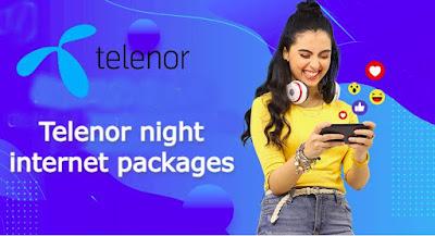 telenor night internet package
