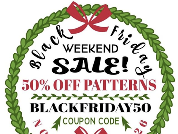 Black Friday Sales - Crochet Designers Pattern and Crochet Products Sales