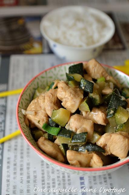 Poulet sauté à la pâte de soja fermentée recette chinoise