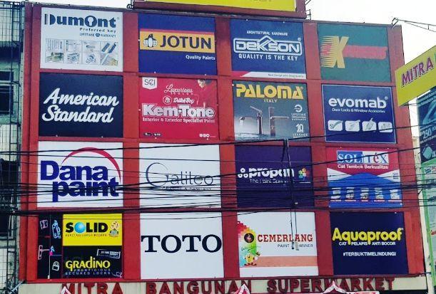distributor baja ringan bekasi utara alamat grosir toko bangunan di