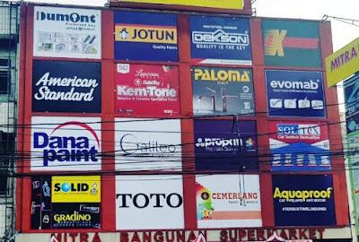 supplier distributor material bangunan daerah Bekasi