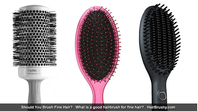 What is a good hairbrush for fine hair?