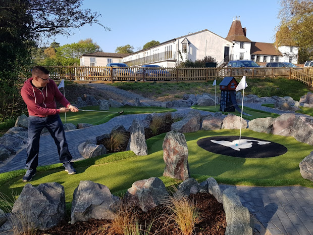 Jiggers Miniature Golf at Thorpeness Golf Club & Hotel in Suffolk